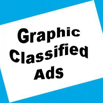 Graphic Classified Ads